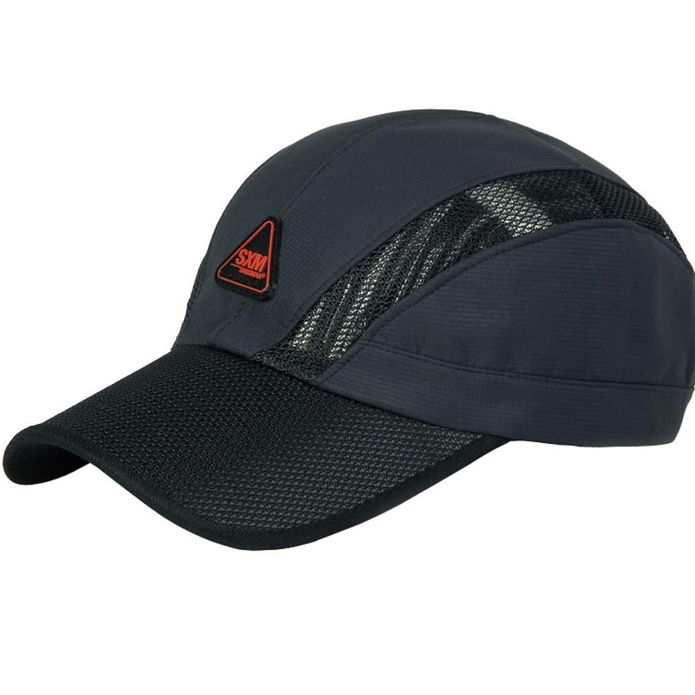 キャップアウトドア夏帽子野球キャップバイザー夏スポーツメンズと速乾性   B01H6XKVIY