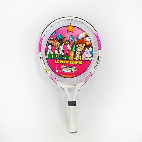 Le Petit raqueta de tenis 17 pulgadas Color Rosa - (edades 2 - 3-4 ...