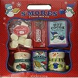 Bay Islands S'Mores & Cocoa Snowman Mug Set