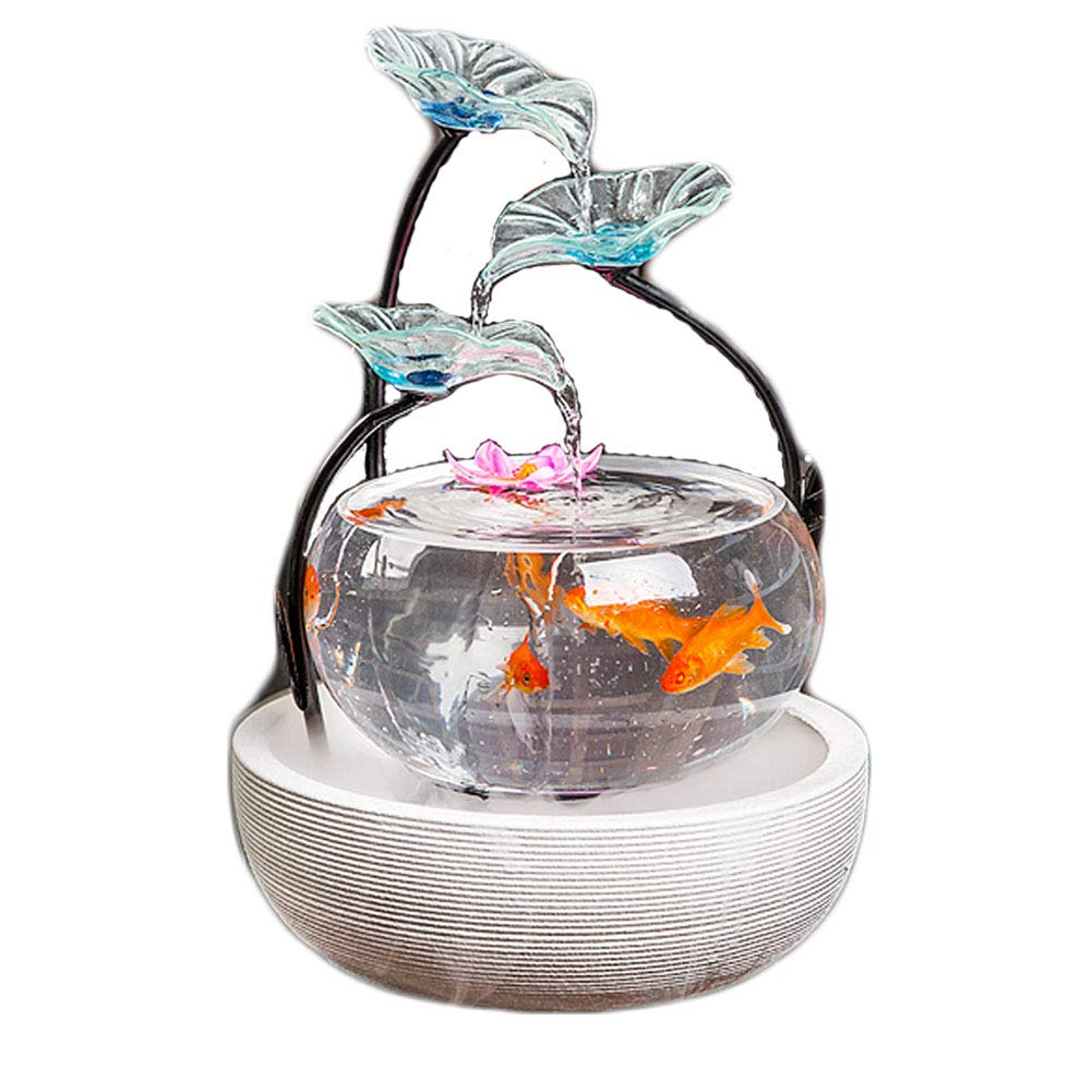 goldfish Bowl, Made of Glass Ceramics, Ecological Landscaping, Creative Aquarium