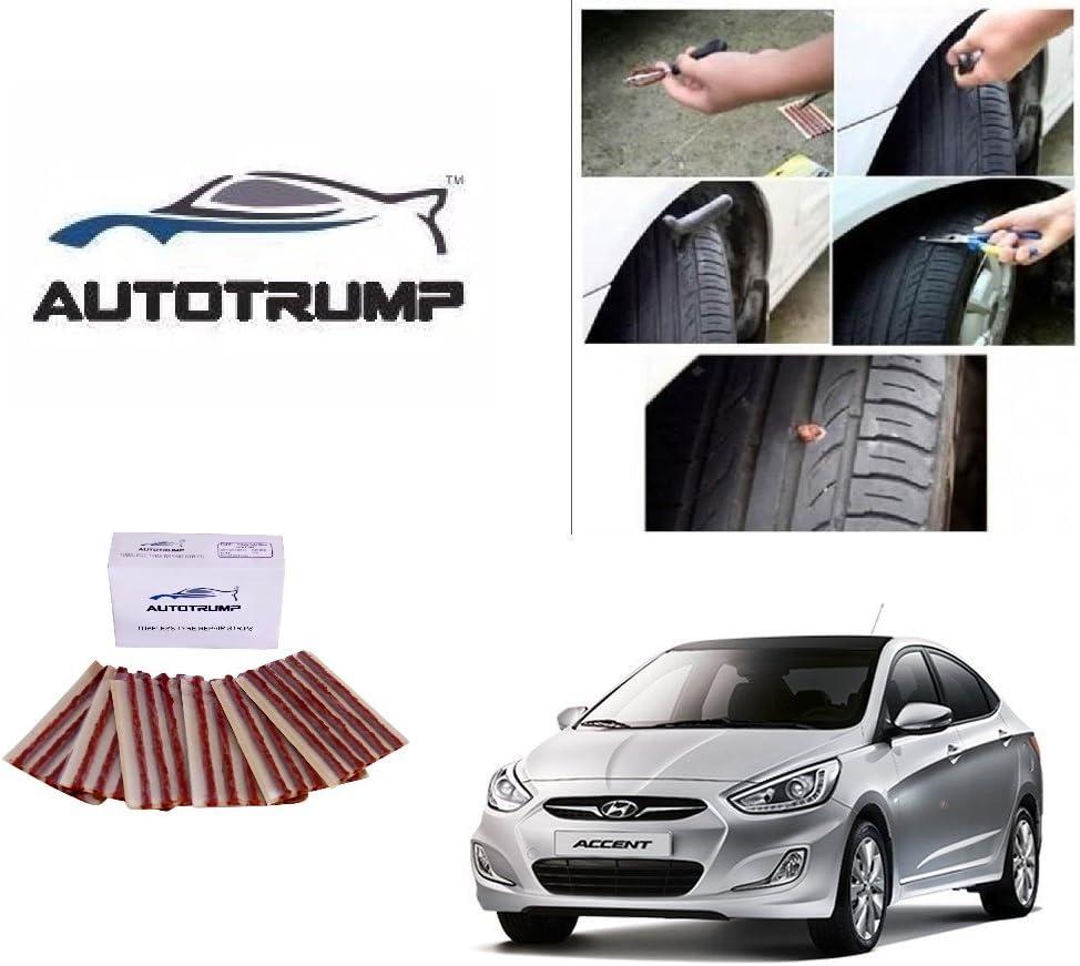 Amazon Com Autotrump Tubeless Tyre Repair Strips For Hyundai Accent Home Improvement