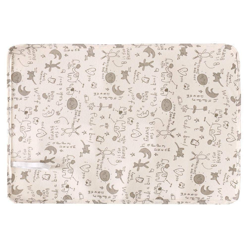 Portable Baby Diaper Pad Waterproof Washable Diaper Changing Mat Cotton Mesh Breathable Replacement Diaper Urine Pad Diaper Pad Welltobuy-555