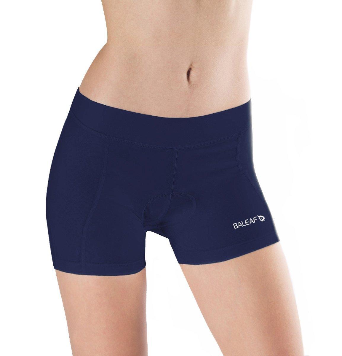 Baleaf Women's 3D Padded Cycling Brief Underwear Shorts