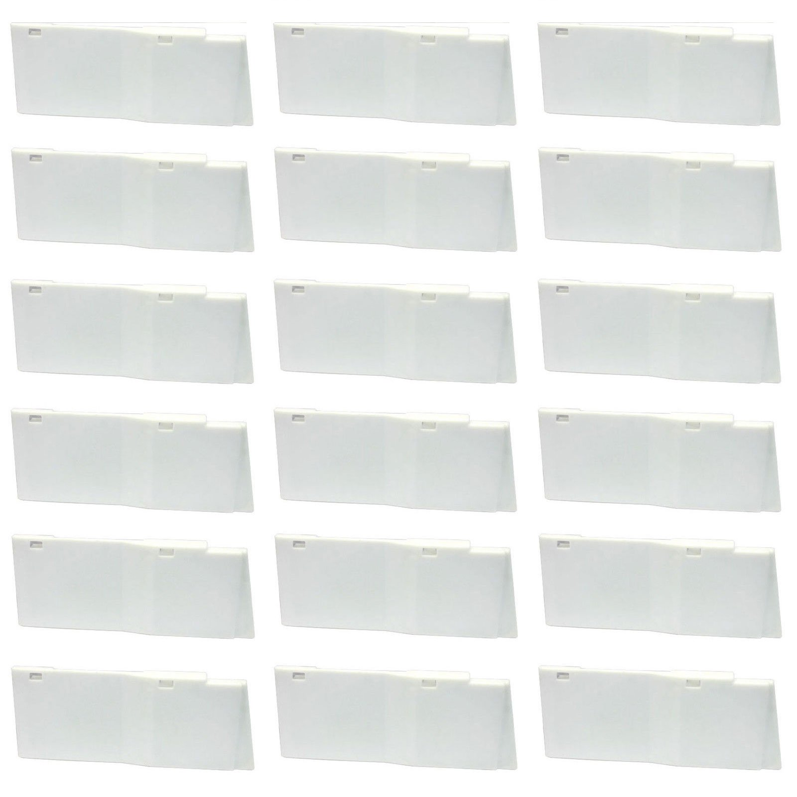 Dixie Narco 20oz Bottle Shims for 5591 Glass Front Vending Machine Lot of 18 by Dixie Narco