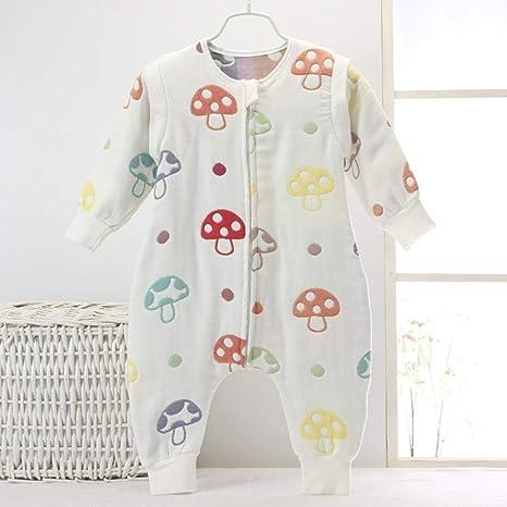 Gleecare Saco de Dormir para bebé,Gasas de bebé Fractura Pierna Fina algodón Bolsa de