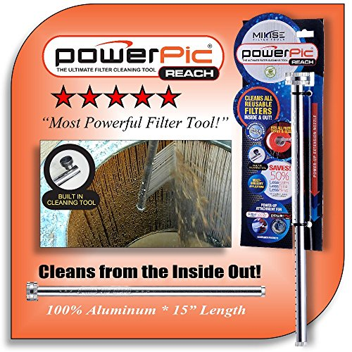 Power Pic Reach - The Most Powerful Filter Cleaning Tool