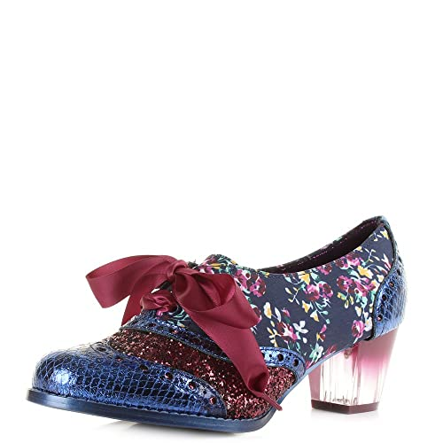 68f670f4a27 Poetic Licence - Corporate Beauty - Navy/Pink: Amazon.co.uk: Shoes ...