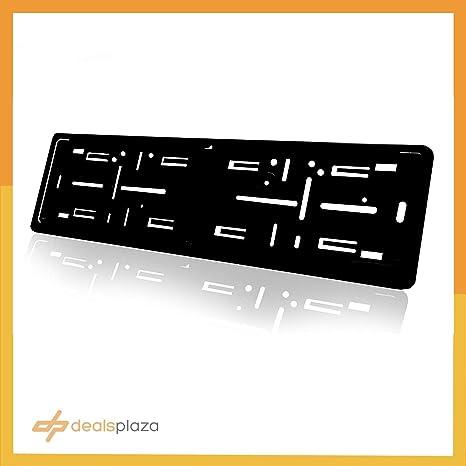 Amazon.com: Placa de matrícula alemana europea de aluminio ...