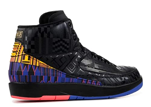 pretty nice 62b19 94a0c Amazon.com   Nike Air Jordan 2 Retro BHM Mens Bq7618-007   Basketball