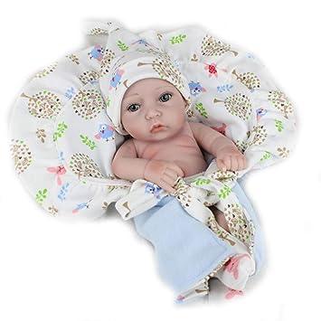 Mr.LQ Reborn bebé muñecas Completo Vinilo Silicona Cuerpo Real Touch ...