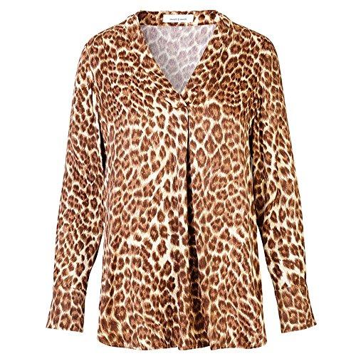 Aop Womens amp; Hamill Vn Leopard Top Samsoe 7700 UF8x7SwUq