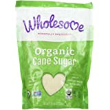 Wholesome Organic Cane Sugar 16 oz (Pack of 12)