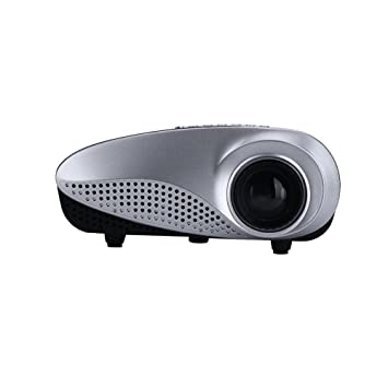 Mini proyector, 720P HD Proyectores LED portátiles con Sistema de ...