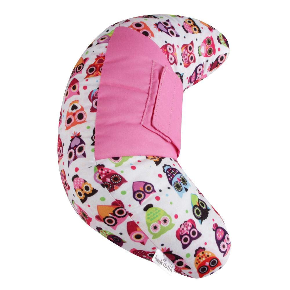 Coton PP Coussin de Cou Doux pour prot/éger la Colonne cervicale des Enfants Ceepko Oreiller de Ceinture de s/écurit/é pour Enfants
