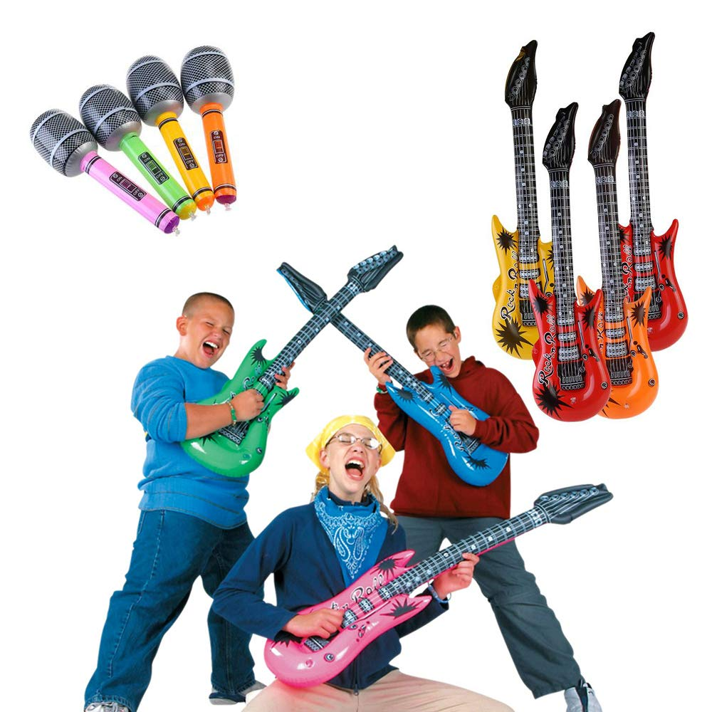 New Gift 55cm Big Inflatable Guitar Develop The Children/'s Interest In Music