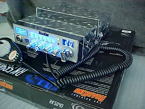 Redman CB Tuned RoadKing RK 5640 CB Radio with 2 1A USB