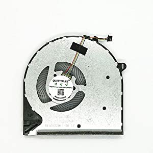 QUETTERLEE Replacement New CPU Cooling Fan for HP Pavilion 15-DU 15-DW 15s-du 15-DW0043DX 15s-du0096tu 15s-du0002TX Series L52034-001 DC28000N6F0 FCC2 DFS5K12114464N FLG0 Fan