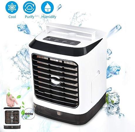 Refrigerador de aire portátil, aire acondicionado, 3 en 1, mini ...