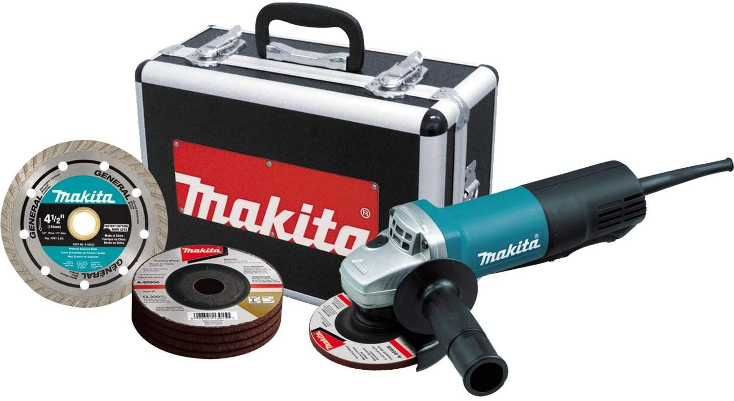 Makita 4 1/2 Paddle Switch Angle Grinder
