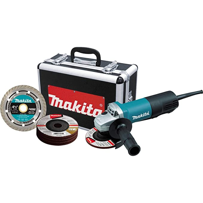 best angle grinder: Makita 9557PBX1 for comfortable & safe operation