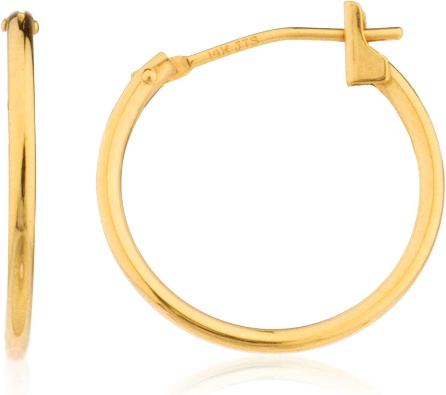 14k Yellow Gold Basic Click...