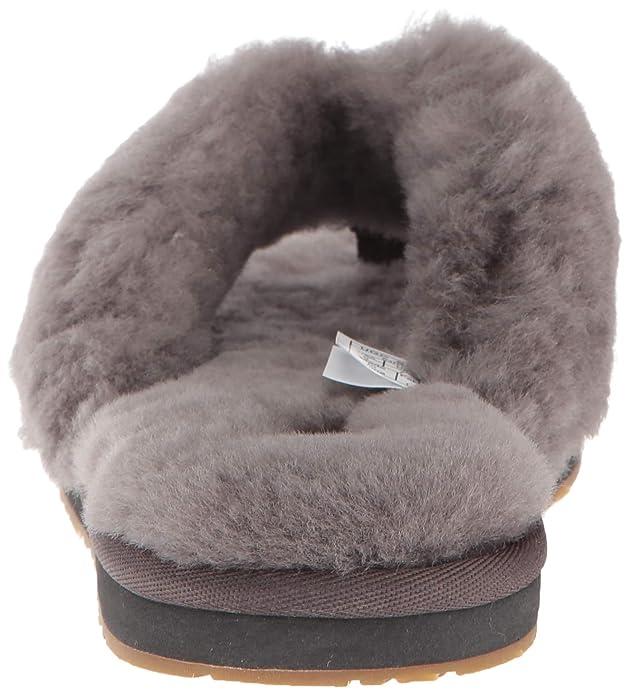 fb6407a5656c UGG Damen - Hausschuhe Fluff Flip III 1100250 - Grey  Amazon.de  Schuhe    Handtaschen