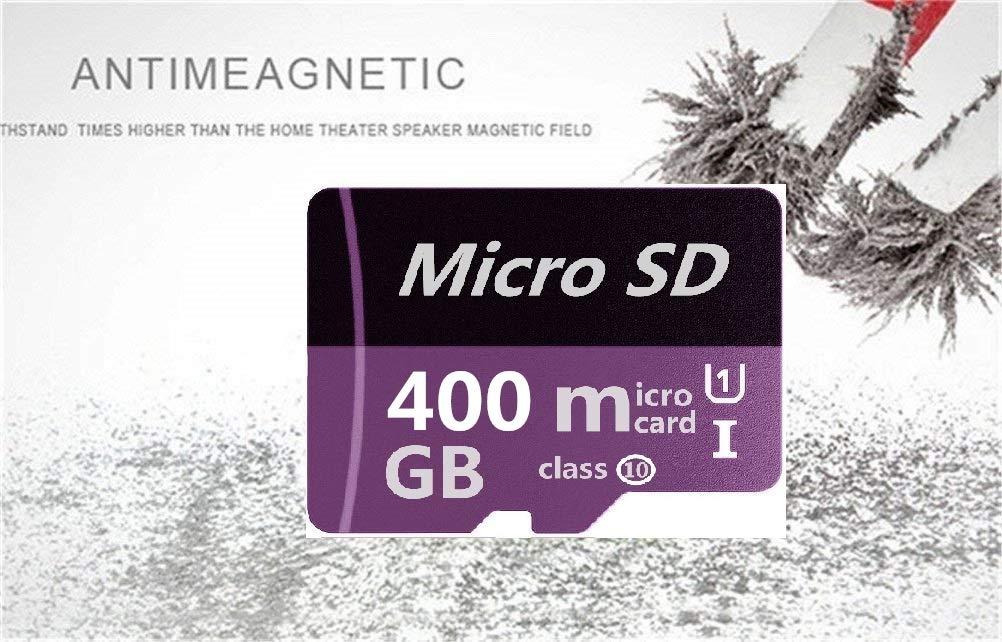 Tarjeta de Memoria microSDXC de 400 GB con Adaptador SD ...