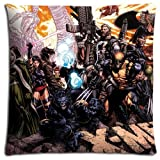 18x18 inch 45x45 cm cushion pillow protector case Cotton / Polyester Luxurious Silky soft X-Men Evolution