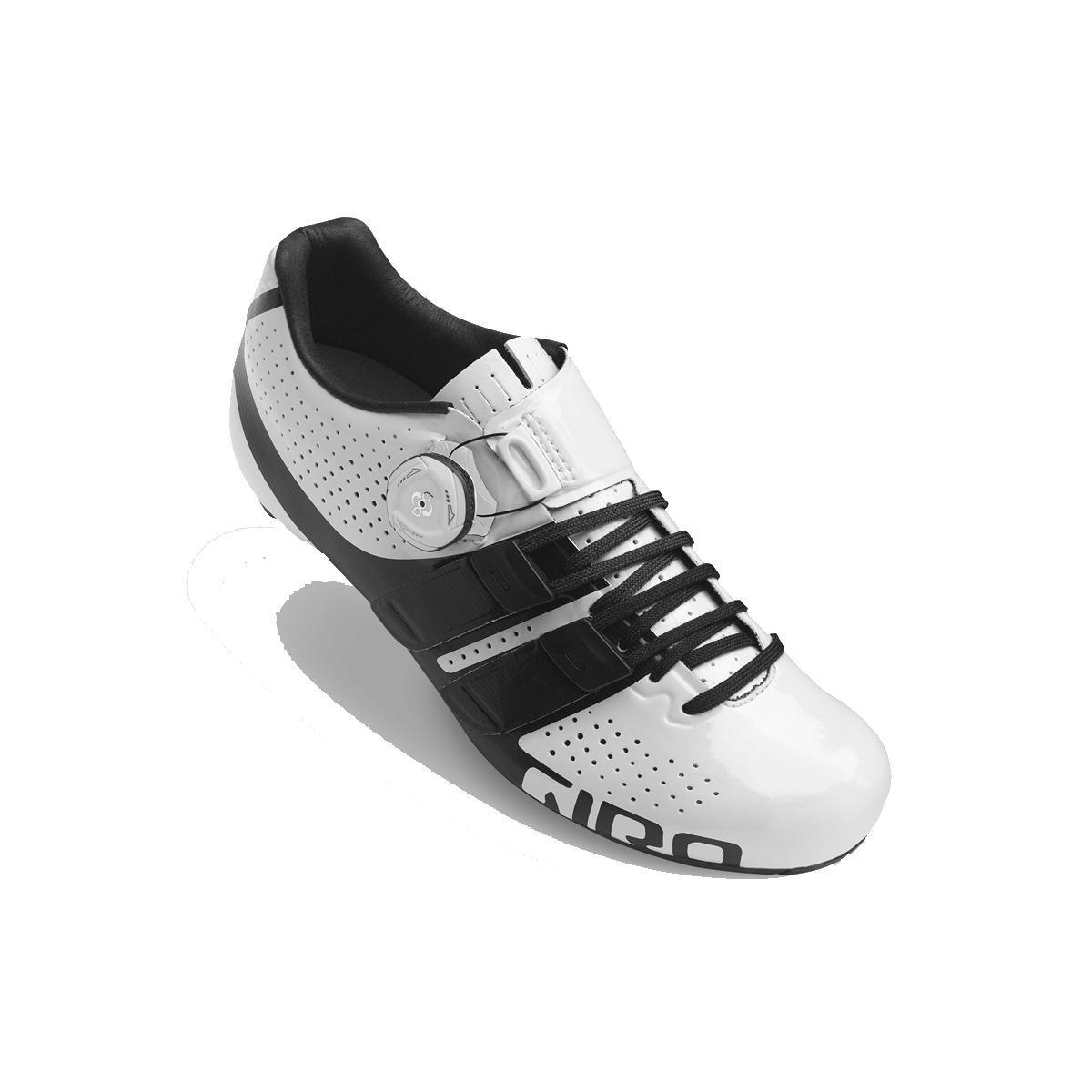 MultiCouleure (blanc noir 000) Giro Factress Techlace Road, Chaussures de Vélo de Route Femme 36 EU