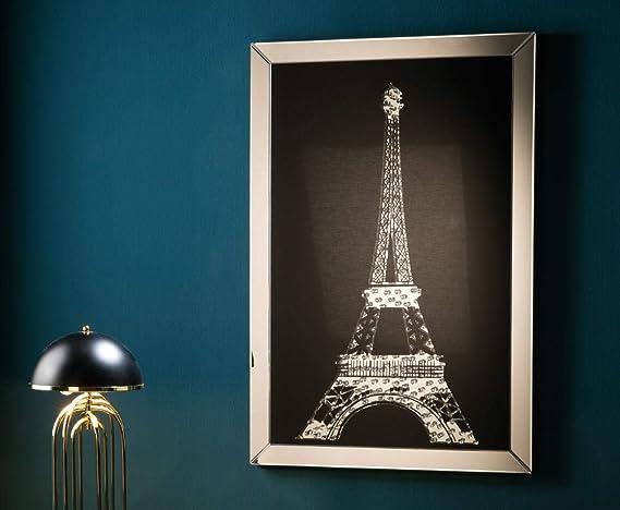 Dugarhome - Cuadros Decorativos - Espejo Paris (120x80x4,4): Amazon.es: Hogar