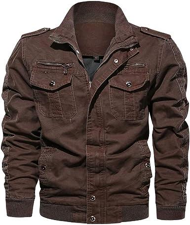 abrigos y chaquetas para hombre en amazon