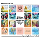 60 Affirmation Cards with Thought Provoking