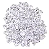 Quality Clear Acrylic Crushed Ice Ice Rocks for Vase Fillers and Table Decorating - About 105-120 Pieces