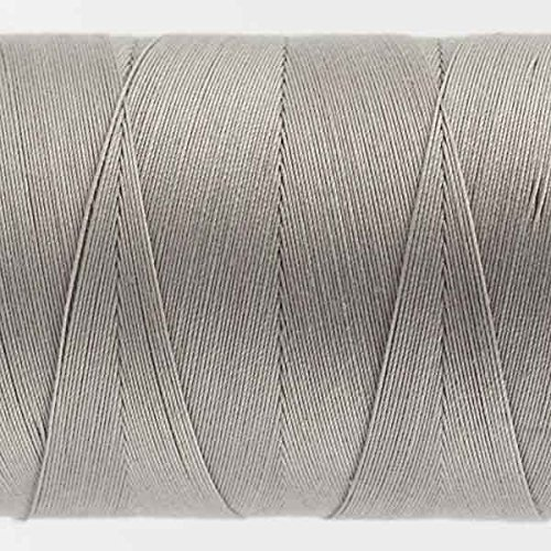WonderFil Specialty Threads Konfetti Thread Sterling Grey, 50wt double gassed Egyptian cotton