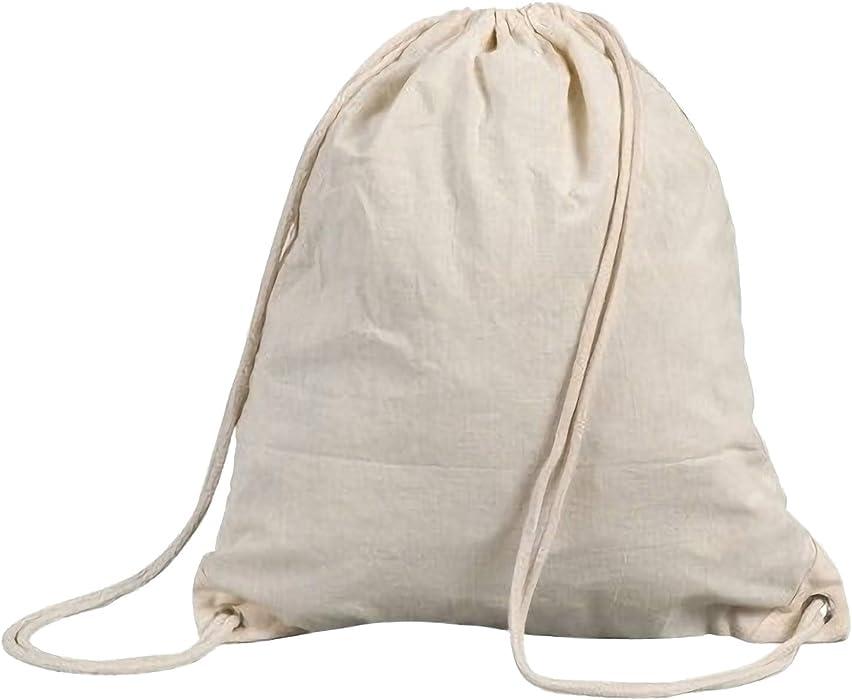 Shugon Stafford - Mochila de cordones (algodón, 13 L)