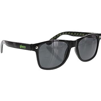 163610a69d Glassy Sunhaters Leonard Kronik Black   Green Sunglasses  Amazon.co.uk   Sports   Outdoors