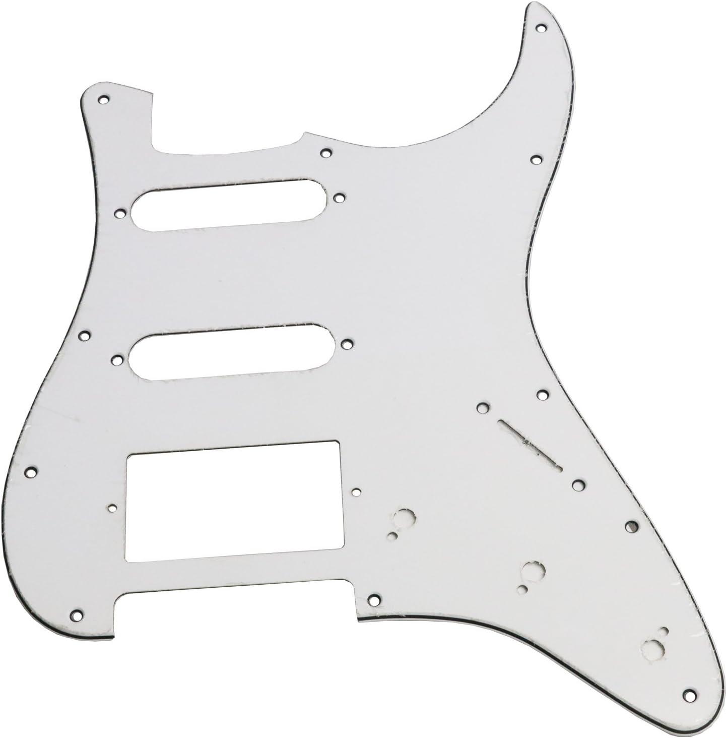 3 ply pour guitare strat black NEW PICKGUARD STRATOCASTER SSS