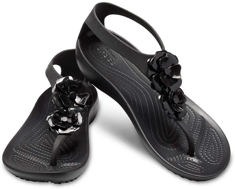Crocs Women/'s Serena Embellish Flip Choose SZ//Color