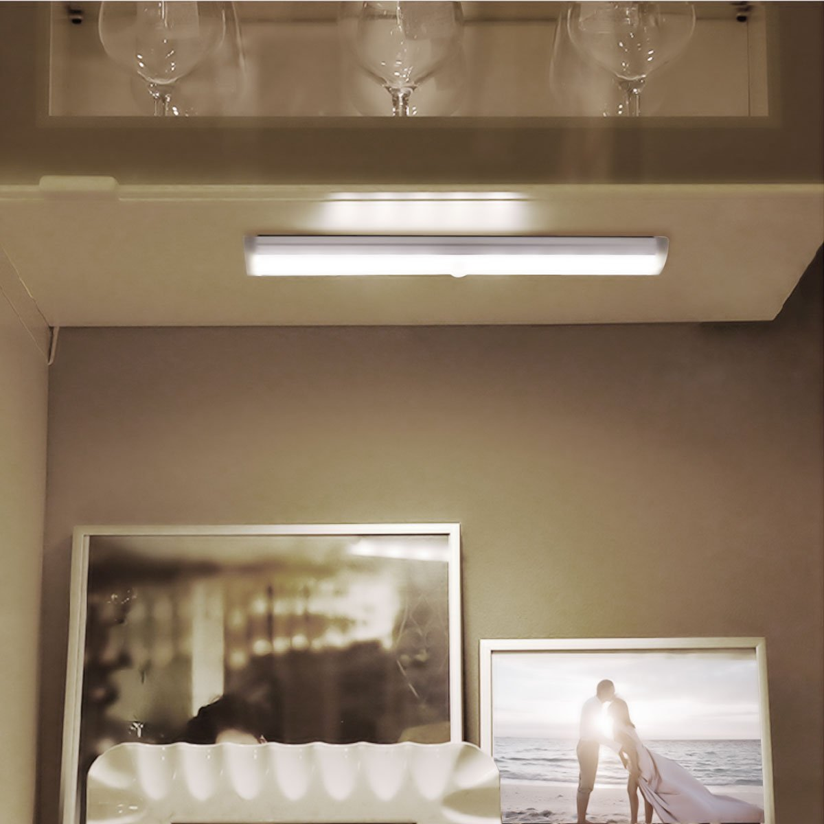 Le Pir Under Cabinet Lighting Wireless Motion Sensor Light