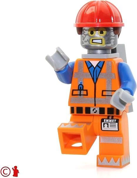 Amazon Com Lego Movie Robo Emmet Minifigure Robot Tinfoil Disguise Toys Games