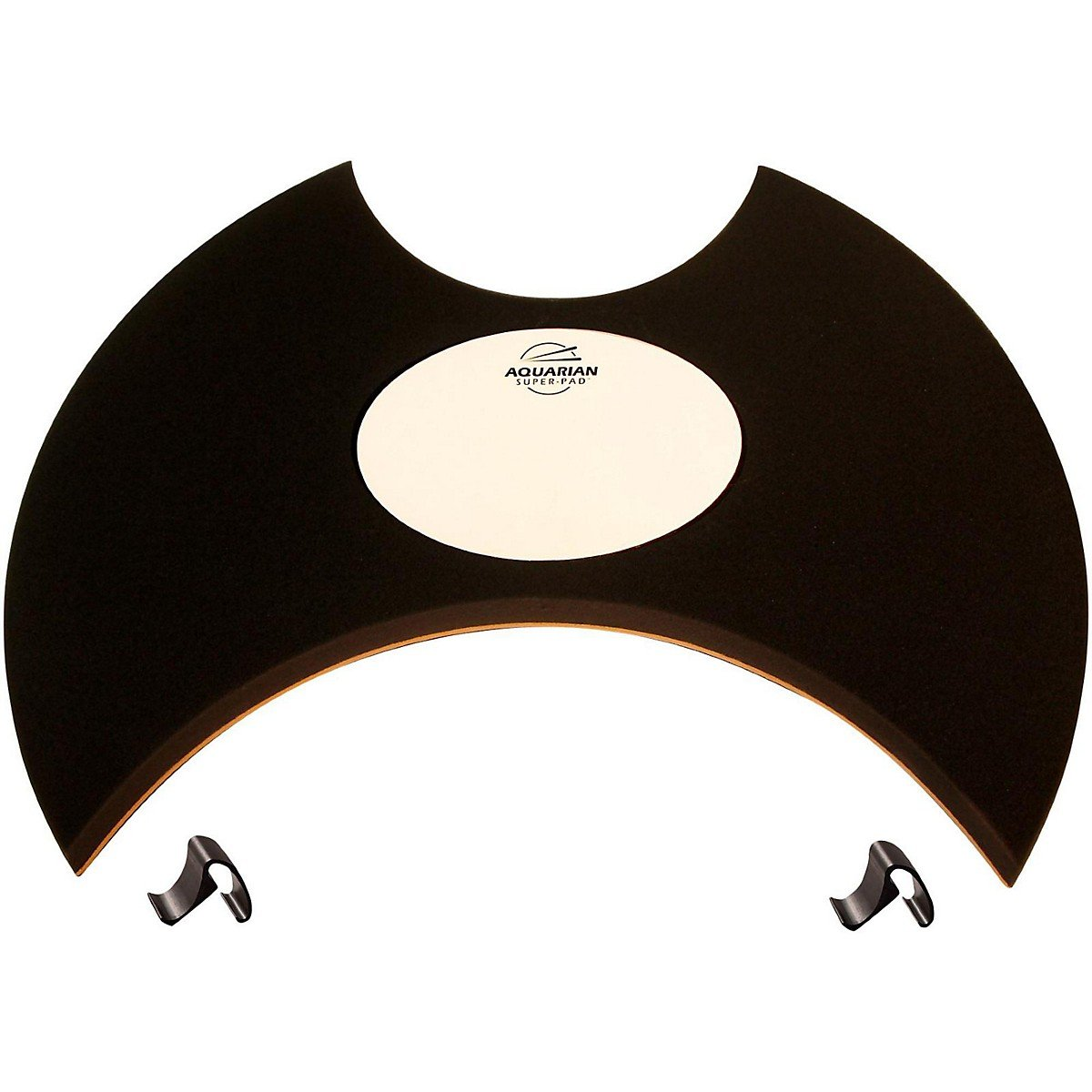 Aquarian Drumheads Super-Pad Low-volume Bass Drum Surface - 22''