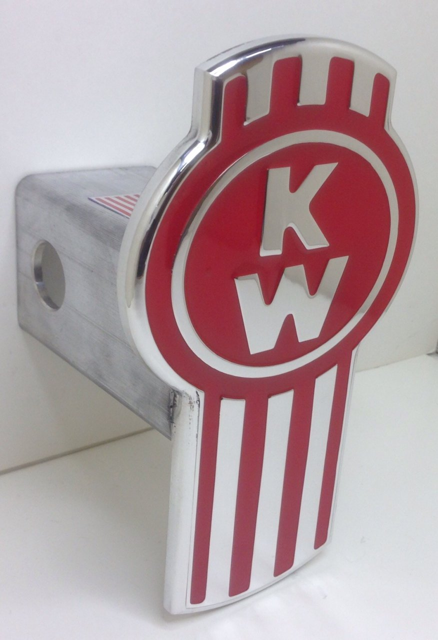 Kenworth Hitch Cover Red
