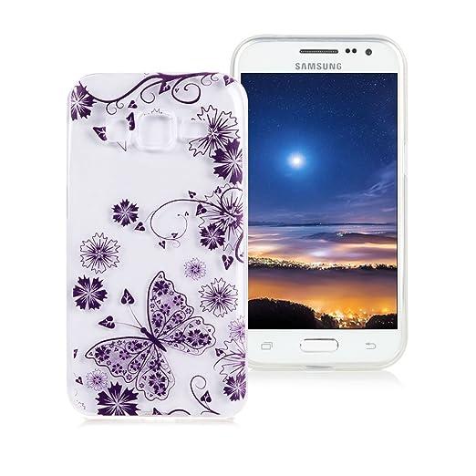 2 opinioni per Custodia Samsung Galaxy Core Prime G360 XiaoXiMi Cover TPU Trasparente Custodia