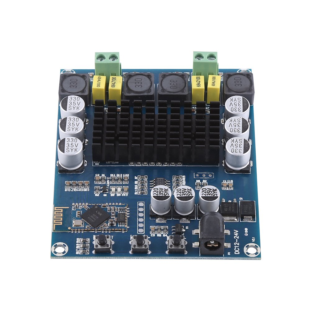 TPA3116D2 Bluetooth 4.0 Dual Channel 120W+120W Digital Audio Amplifier Board Walfront