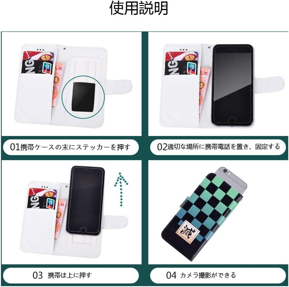 鬼滅の刃 手帳型ケース スマートフォンカバー 禰󠄀豆子(ねずこ) グッズ かまど ねずこ 携帯ケース