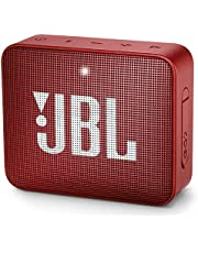 JBL GO2 Ultra Portable Waterproof Wireless Bluetooth Speaker with up to 5 Hours of Battery Life - Red