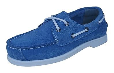 ee19a9ddfa43 Timberland EarthKeepeers Peakisl 2I Kids Boat Deck Shoes-Blue-1.5