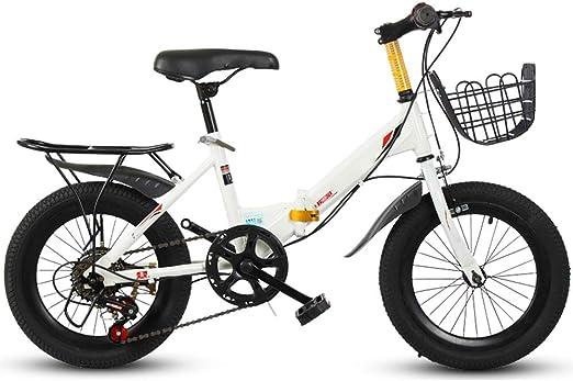 YUMEIGE Bicicletas Bicicleta Infantil para niños y niñas 16 18 20 ...