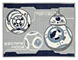 Suminoe Disney Star Wars BB-8 kitchen mat DMW-5002 width 45 ~ length 180cm gray 13134140