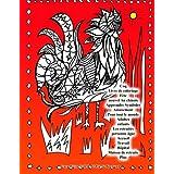 Coq Livre de coloriage Fête nouvel An chinois Apprendre Symboles Amusement Pour tout le monde Adultes enfants Les retraités personne âgée Accueil Travail Hôpital Maison de retraite Plus